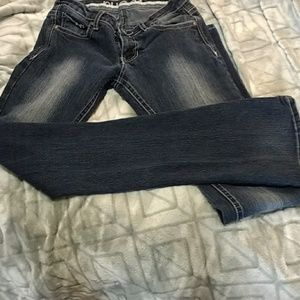 rue 21 mid rise boot cut jeans